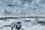 An Alien Base Located in the Antarctic