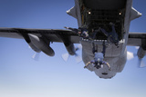 US Navy Parachute Team  the Leap Frogs  Jump from a C-130 Hercules