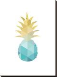 Blue Yellow Pineapple