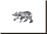 Geometric Grey Bear