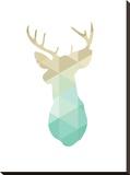 Gold Mint Deer