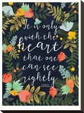 It Is Only With The Heart