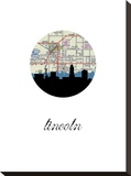 Lincoln Map Skyline
