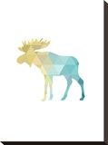 Turquoise Gold Moose