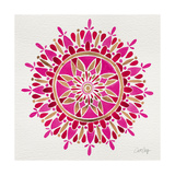 Mandala in Pink and Gold