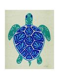 Sea Turtle in Blue– Cat Coquillette