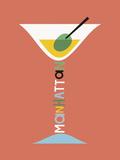 Stylish Cocktails - Manhattan