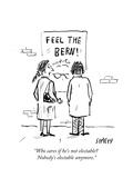 """""""Who cares if he's not electable Nobody's electable anymore"""" - Cartoon"""