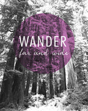 Wander Far and Wide Reproduction d'art par Laura Marshall