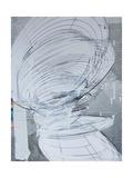 Silver Swirl 4 Reproduction d'art par Enrico Varrasso