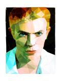 David Bowie Reproduction d'art par Enrico Varrasso