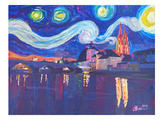 Starry Night In Regensburg