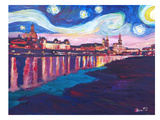 Starry Night In Dresden