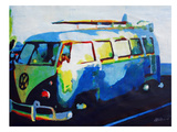 The Blue Surf Bus