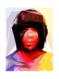 Black Woman 2 Reproduction d'art par Enrico Varrasso