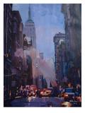 NY Street Scene Empire State Building 2