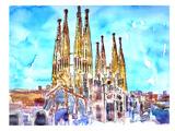 Sagrada Familia Barcelona Catalonia Neu