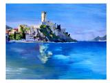 Malcesine With Castello Scaligero2