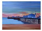 Brighton Pier Seaview Sunset