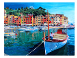 Portofino - Tranquility In The Harbour Of Portofino - Italy