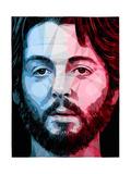Paul McCartney Reproduction d'art par Enrico Varrasso