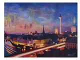 Berlin Skyline Dusk 2