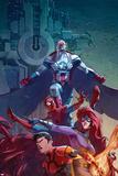 All-New Captain America Special No 1 Cover  Featuring: Falcon Cap  Spider-Man  Medusa  Inferno