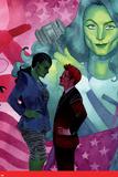 She-Hulk No 10 Cover  Featuring: She-Hulk  Jennifer Walters  Matt Murdock