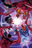 Spider-Verse No 2 Cover  Featuring: Spider Woman  Spider-Man  Scarlet Spider  Spider-Punk and More