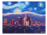 Starry Night In Los Angeles