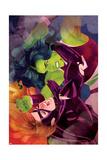She-Hulk No 11 Cover  Featuring: She-Hulk  Titania