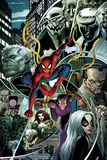 The Amazing Spider-Man No 161 Cover  Featuring: Spider-Man  Tombstone  Hammerhead and More