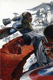 All-New Captain America: Fear Him No 1 Cover  Featuring: Falcon Cap  Ian Zola