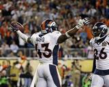 TJ Ward - NFL Super Bowl 50  Feb 7  2016  Denver Broncos vs Carolina Panthers