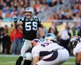 Luke Kuechly - NFL Super Bowl 50  Feb 7  2016  Denver Broncos vs Carolina Panthers