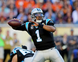 Cam Newton - NFL Super Bowl 50  Feb 7  2016  Denver Broncos vs Carolina Panthers
