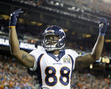 Demaryius Thomas - NFL Super Bowl 50  Feb 7  2016  Denver Broncos vs Carolina Panthers