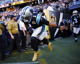 Cam Newton - NFL Super Bowl 50  Feb 7  2016  Denver Broncos vs Carolina Panthers