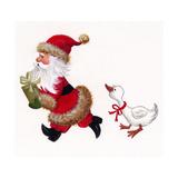 Duck Chasing Santa