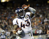 TJ Ward - NFL Super Bowl 50  Feb 7  2016  Denver Broncos vs Carolina Panthers