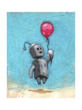 Robot with Red Balloon