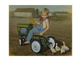 Murray Diesel Tractor