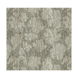Floral Waltz Mono Taupe Oyster