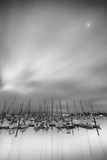 Moored Craft Yearning for the Moon