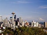 Seattle Cityscape  Seattle  Washington