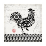Rooster I B&W