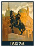 Padova (Padua)  Italy - Equestrian Statue of Gattamelata - St Antonio Basilica