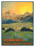 Toblach  Italy - Entrance to the Paradise of the Dolomites
