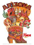 Arizona - Fly TWA (Trans World Airlines)