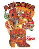 Arizona - Fly TWA (Trans World Airlines)